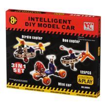 Same Toy ასაწყობი სათამაშოები მეტალის კონსტრუქციით