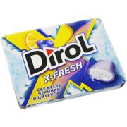Dirol საღეჭი რეზინი Dirol X-Fresh მოცვი და ციტრუსი