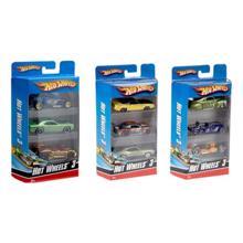 MATTEL Hot Wheels მანქანების ნაკრები 3ც