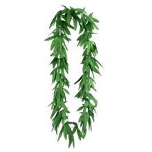 ჰავაის ყელსახვევი მწვანე ფოთლები