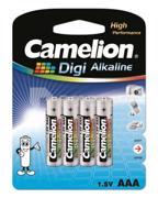 Camelion  ელემენტი Camelion LR03-BP4DG Digi Alkaline AAA 4 ც