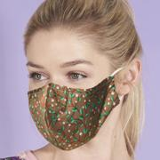 Eco Chic Brown Berry Trail Face Cover - პირბადე