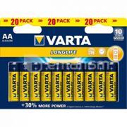 Varta ელემენტი VARTA Alkaline AA LL 1.5 V 20 ც