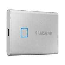 Samsung 500GB T7 TOUCH SSD Silver გარე მყარი დისკი