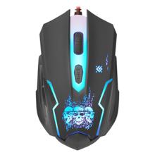 Defender GM-180L Killer Black Gaming მაუსი