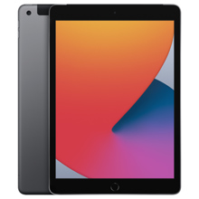 Apple iPad 10.2'' 2020 128GB Wi-Fi + Cellular Space Gray პლანშეტური კომპიუტერი
