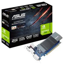 ASUS ვიდეო დაფა GeForce GT710 2GB DDR5 low profile silent