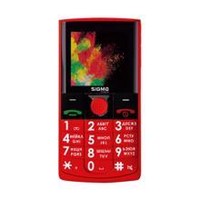 SIGMA MOBILE-COMFORT 50 SOLO-Red მობილური ტელეფონი