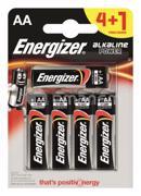 Energizer ელემენტი Energizer 4+1 LR6 E91 BP5 AA Alkaline 5 ც