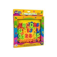Globo მაგნიტური ანბანი Magnetic Letters/Numbers/Symbols