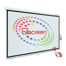 "ALLSCREEN CMP-11879 Electric Projection Screen 150"" პროექტორის ელექტრო ეკრანი"