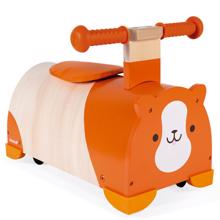 Janod Hamster Ride-On დასაჯდომი ხის სათამაშო ეტლი