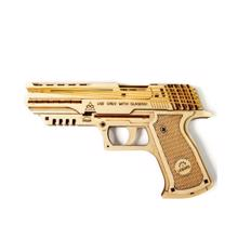 UGEARS ასაწყობი მოდელი იარაღი (Wolf-01 Handgun)