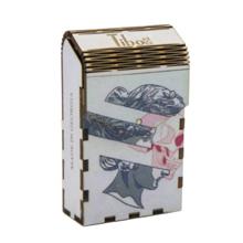Tibox • ტიბოქს ხის ყუთი Eva face