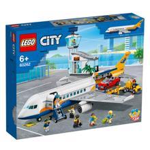 lego CITY სამგზავრო თვითმფრინავი