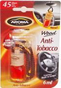 არომატიზატორი Aroma Car WOOD Anti Tobacco 6 მლ