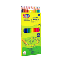 Globo ფერადი ფანქრების ნაკრები 12 ფერი Colored Pencils