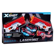 Zuru X-Shot Laser 360° თოფი ლაზერული