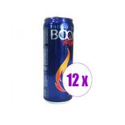 1 შეკვრა 12 ცალი ენერგეტიკული სასმელი BOOM FIRE 0.330 ლ