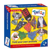 JOHNTOY Twizz შექმენი შენი დასაკეცი ცხოველები