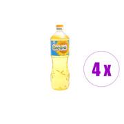 4 ცალი მზესუმზირის ზეთი Олеина 1 ლ