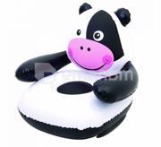 BestWay სავარძელი გასაბერი ძროხა თეთრ-შავი Bestway 75025 80x80x71 სმ