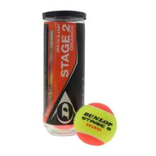 Dunlop Stage 2 Orange ITF ჩოგბურთის ბურთი 3 ც