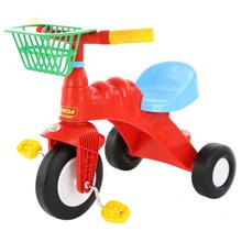 POLESIE საბავშვო ველოსიპედი კალათით