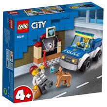 LEGO CITY პოლიციის ძაღლების განყოფილება