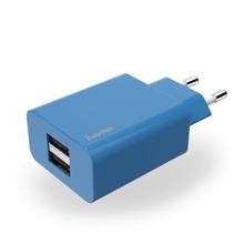 Hama 178267 Charger 2 x USB  2.1A Blue ადაპტერი