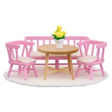 lundby სამზარეულოს მაგიდა და სკამები