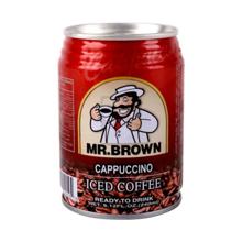 Mr. Brown ცივი ყავა Cappuccino 240 მლ