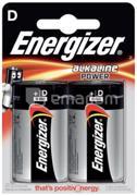 Energizer ელემენტი Energizer D Alkaline Power 2 ც