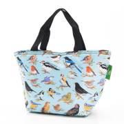 Eco Chic Blue Wild Birds Lunch Bag - ჩანთა