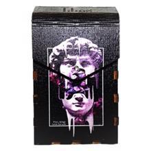 Tibox • ტიბოქს ხის ყუთი Adam face