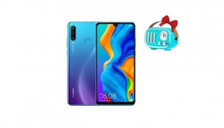 HUAWEI მობილური ტელეფონი Huawei P30 Lite 4GB RAM 128GB LTE Blue +  საჩუქრად დინამიკი Hoco BS16 Voice reminder