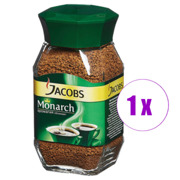 1 ქილა ხსნადი ყავა JACOB MONARCH 47.5 გრ