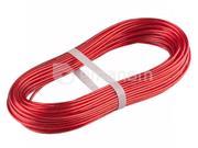 Tech-Krep გვარლი ლითონპოლიმერული Tech-Krep 3 მმ 10 მ წითელი (136587)