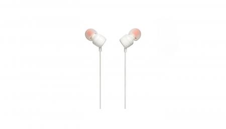 JBL ყურსასმენი JBL T110 In-Ear headphone white