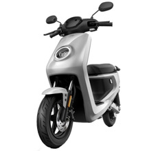 NIU MQi+ Sport Extended Range Silver ელექტრო სკუტერი