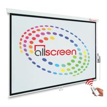 "ALLSCREEN CMP-18043 Electric Projection Screen 180"" პროექტორის ელექტრო ეკრანი"