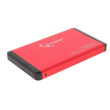 "Gembird External Case 2.5""  USB 3.0 Red მყარი დისკის ქეისი"