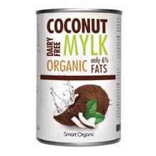 Smart Organic ქოქოსის რძე 6% 400 მლ