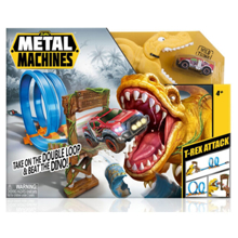 Zuru T-Rex Attack Metal Machines ტრასა