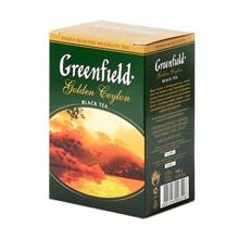 Greenfield შავი ჩაი Golden Ceylon 100 გრ