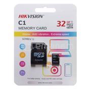 მეხსიერების ბარათი HIKVISON Micro SD 32GB ადაპტერით