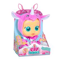 IMC Toys ინტერაქტიული თოჯინა Cry Babies Sasha