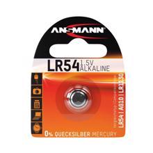 ANSMANN ელემენტი AlkCC-1.5V LR54-bl