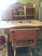საბავშვო მაგიდა და სკამი