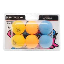 Dunlop Nitro Glow მაგიდის ტენისის ბურთი 6 ც